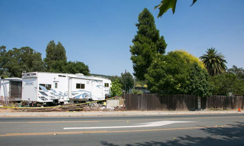 Sonoma Mobile Homes Knocked Askew by Pickup Truck Accident | Golden on anaheim homes, council bluffs homes, los gatos homes, bakersfield homes, whittier homes, mendocino county homes, yorba linda homes, glendale homes, fontana homes, fort worth homes, half moon bay homes, thousand oaks homes, van nuys homes, napa homes, mill valley homes, santa clarita homes, santa paula homes, laredo homes, clovis homes, temecula homes,