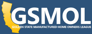 GSMOL Golden State Manufatured-Home Owners League