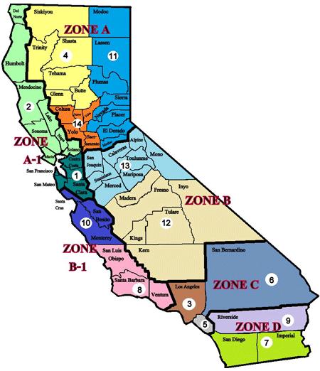 GSMOL Regions Map